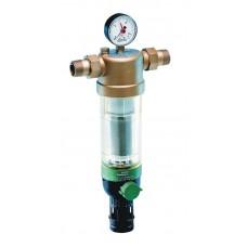 """Фильтр с манометром для холодной воды Honeywell F 76S 1"""" AA"""