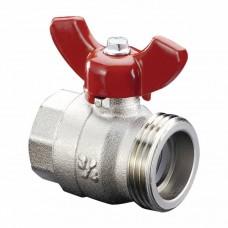 Шаровый кран с плоским уплотнителем Oventrop  ВР3/4X G1 HP 1406383