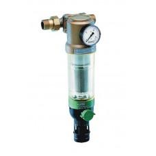 """Фильтр с манометром для холодной воды Honeywell F 76S 2"""" AA"""