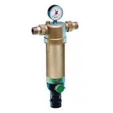 """Фильтр с манометром для горячей воды Honeywell F 76S 1 1/4"""" AAM"""