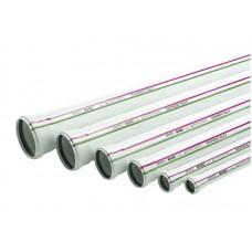 Труба канализационная Rehau Raupiano Plus - D50x1,8 мм, длина 750 мм (цвет белый)