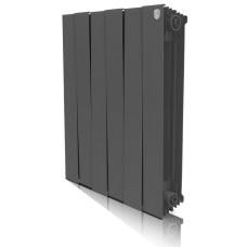 Биметаллический секционный радиатор Royal Thermo PianoForte Noir Sable 500x6 секций