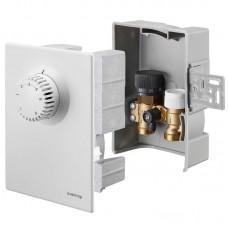 Набор терморегулятора, Oventrop, Unibox E plus, диапазон, °С-7-28, белый 1022633