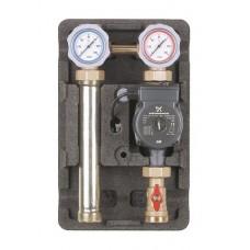 Насосная группа Meibes UK без смесителя, с насосом Grundfos UPM3 Hybrid 32-70* 1 1/4″ ME 66812.36