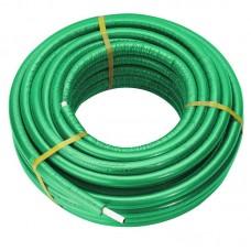 Труба Comisa 20 мм с зеленым утеплителем