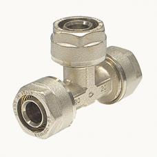 Тройник обжимной Comisa 16-16-16 мм