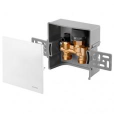 Монтажный набор Oventrop Unibox E RTL белый пластик 1022731
