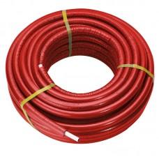 Труба Comisa 16 мм с красным утеплителем