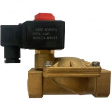 Электромагнитный клапан нормально-закрытый 20 мм 3/4 220 В