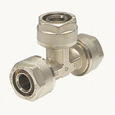 Тройник обжимной Comisa 20-16-20 мм