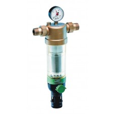 """Фильтр с манометром для холодной воды Honeywell F 76S 1/2"""" AA"""